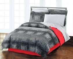 pixel bedding set teen boy comforter set guys bedding black red twin or full pixel bedding pixel bedding