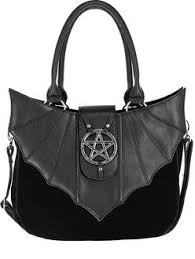 Restyle Big Bat Wings Crescent Moon <b>Gothic</b> Punk Witchy <b>Occult</b> ...