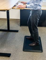 com standee anti fatigue standing mat extra thick for comfort 20 x 30 x 7 8 in designed for office and kitchen black kitchen dining