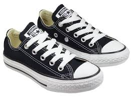 converse black and white. converse shoes kids all star ox low black white and