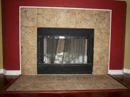 Tiles, Porcelain Tile Fireplace Ideas Tile Fireplace Surround Design  Pictures Brown Color: outstanding porcelain