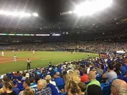 Rogers Centre Section 129r Home Of Toronto Blue Jays