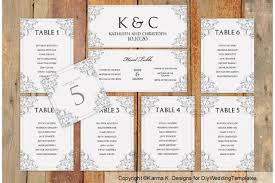 Table Chart Template Word Downloadable Free Wedding Seating Chart Template Microsoft Word