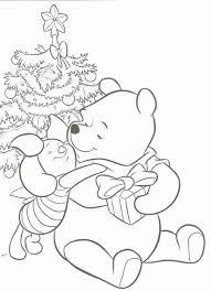 Kerst Pooh4 Gratis Kleurplaten