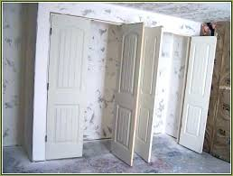 interior prehung doors home and furniture enchanting double closet doors on interior at the home depot