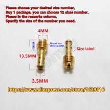 (<b>12 pcs</b>/<b>pack</b>)mikuni carburetor VM22/210 vice injectors Nozzle For ...