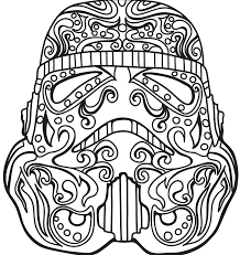 Sugar Skull Coloring Pages Easy Freeownload Colouring For Adults