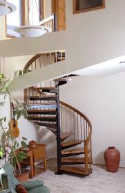 Unique Residential Loft Spiral Stair