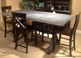 zinc dining room table. Zinc Dining Room Table Home Design Ideas Throughout Top Good