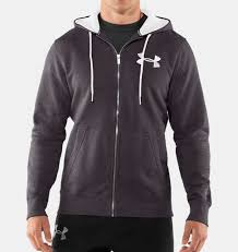 under armour zip up. men\u0027s charged cotton® storm full zip hoodie, carbon heather under armour up i