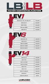 Mustang Stock Fuel Injector Size Chart Lmr Com
