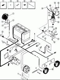 Power case elec equipment wiring spark ignition eng used diagram delco starter generator lines wires electrical