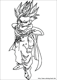 Coloring Dragon Ball Z Dragon Ball Z Coloring Pages On Coloring