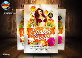 Easter Party Flyer Template Free – Happy Easter & Thanksgiving 2018