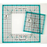 Quilt Rulers and Templates – Quilting rulers & GET SQUARED RULER COMBO WITH FREE HOW TO GUIDE Adamdwight.com