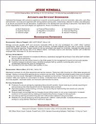 Resume Example Bookkeeper Resume Ixiplay Free Resume Samples