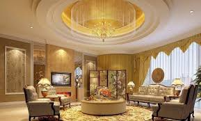 ceiling light fixtures with chandelier and led lighting and recessed lights in round ceiling