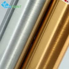 sticky paper for furniture. 5M Brushed Silver/Gold Decorative Film PVC Self Adhesive Wall Paper Furniture Cupboard Vinyl Stickers Sticky For R
