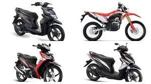 sepeda motor honda januari 2020