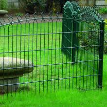 decorative wire fence panels. Decorative Double Wire Fence Panels U
