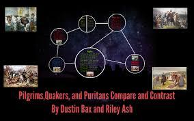 Puritans And Quakers Venn Diagram Pilgrims Puritans And Quakers Compare And Contrast By