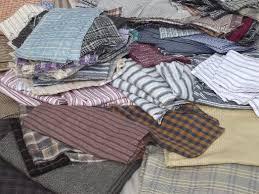 10 lbs cotton shirting fabric scraps, primitive country 'rag ... & 10 lbs cotton shirting fabric scraps, primitive country 'rag' quilt fabrics  lot Adamdwight.com