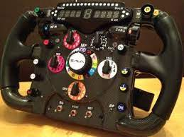This thrustmaster ferrari f1 italia steering wheel is made to full scale, so it feels like the real thing. Thrustmaster F1 Wheel Mod With Simr F1 Display Switches And Encoders Racing Simulator Gaming Pc Build Wheel