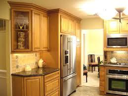 Kitchen Cabinets Refrigerator Refrigerator Kitchen Cabinets Home Design Home Decor