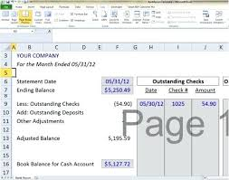 Bank Reconciliation Template Cool Account Reconciliation Template Bank Reconciliation Template Prepaid