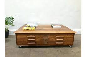 picasso coffee table retro vintage abbess oak plan chest map drawers coffee table size picasso coffee picasso coffee table