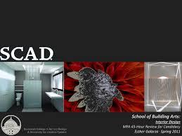 Scad Mfa Interior Design Scad Mfa Review By Esther Galarza Issuu
