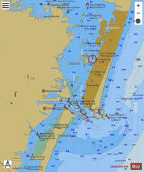 Ocean Depth Chart Ocean City Inlet Marine Chart Us12211_p553 Nautical