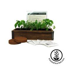 Herb Kitchen Garden Kit Herbkitscom Indoor Herb Garden Kits
