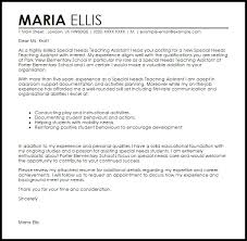 Ideas Collection Teacher Assistant Cover Letter Sample Letters Font