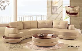 decor curved leather sofa with sectional modern inside elegant curved leather sofas intended for sofa16