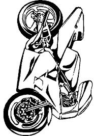 Dessins Colorier Coloriage Moto Imprimer Prefix Kawasaki X Dessin