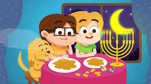 Small Picture Hanukkah Oh Hanukkah Song for Kids Chanukah Song The Kiboomers