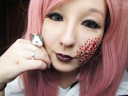 special best trypophobia makeup tutorial with wax krul tepes wig