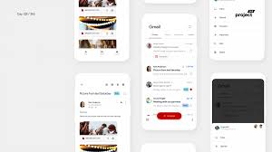 Material Design 2 0 Apps Day 128 Gmail App Redesign Concept Material 2 0 App