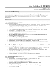 Resume Registered Nurse Template Sidemcicek Com