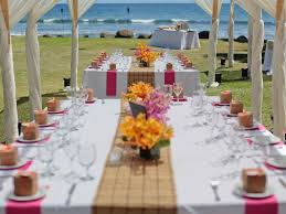 beach theme wedding ideas budget