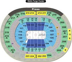Philadelphia Flyers Seating Chart Interactive Map Seatgeek