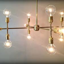 edison bulb chandelier handmade modern contemporary light sculpture multiple light bulb chandelier lamp by retro steam edison bulb chandelier