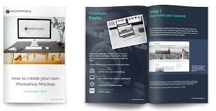 design 10 pages ebook booklet pdf book with cover page