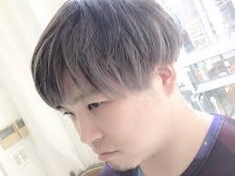 メンズミルクティーの髪色ヘアカタログやヘアカラー Stylistd