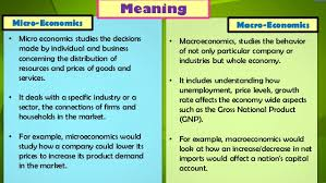 micro macro and positive normative economics com  source slideshare net