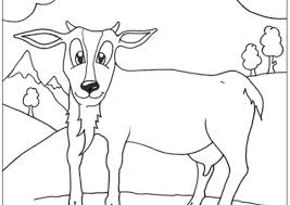 Small Picture Baby Goat Coloring Pages Coloring Coloring Pages
