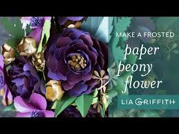 How To Make A Simple Paper Flower Bouquet How To Make A Simple Paper Peony Flower Fall Flower