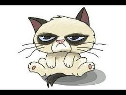 easy grumpy cat drawing. Fine Easy How To Draw Chibi Grumpy Cat Throughout Easy Drawing Y