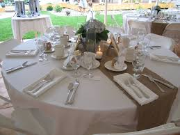 table runners for round tables